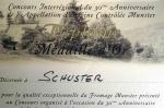 Diplome d'excellence à l'occasion du 30éme anniversaire de l'AOC 1999