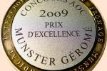 Prix d'excellence à l'occasion du 40ème anniversaire de l'AOC 2009